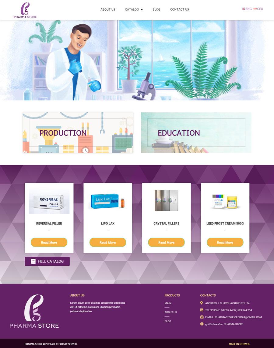 Pharma Store